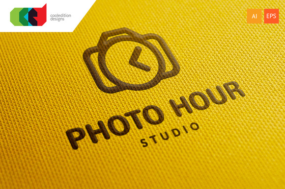 Photo Hour Logo Template