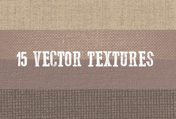 15 Vector Textures
