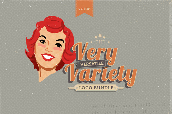 Very Versatile Variety Logo Set 01