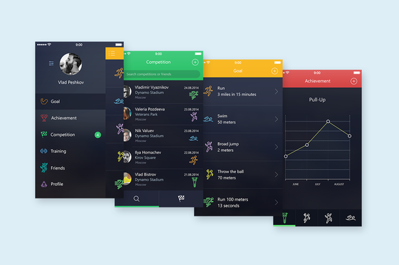 App Sport Ui