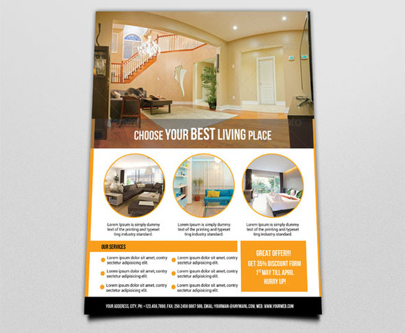 Flyer For Interior Design