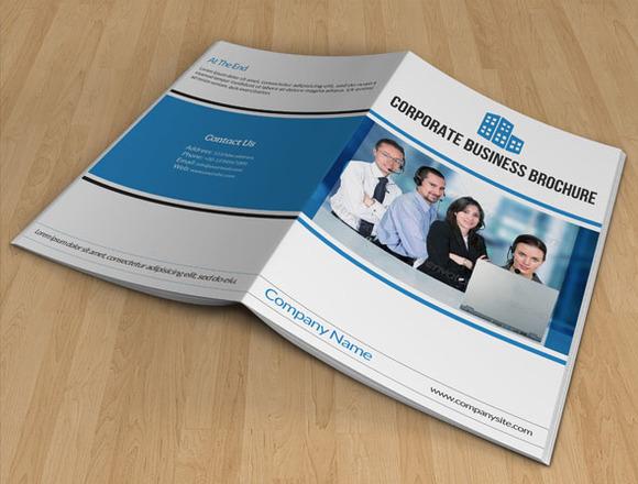 Bi-fold Business Brochure 10page