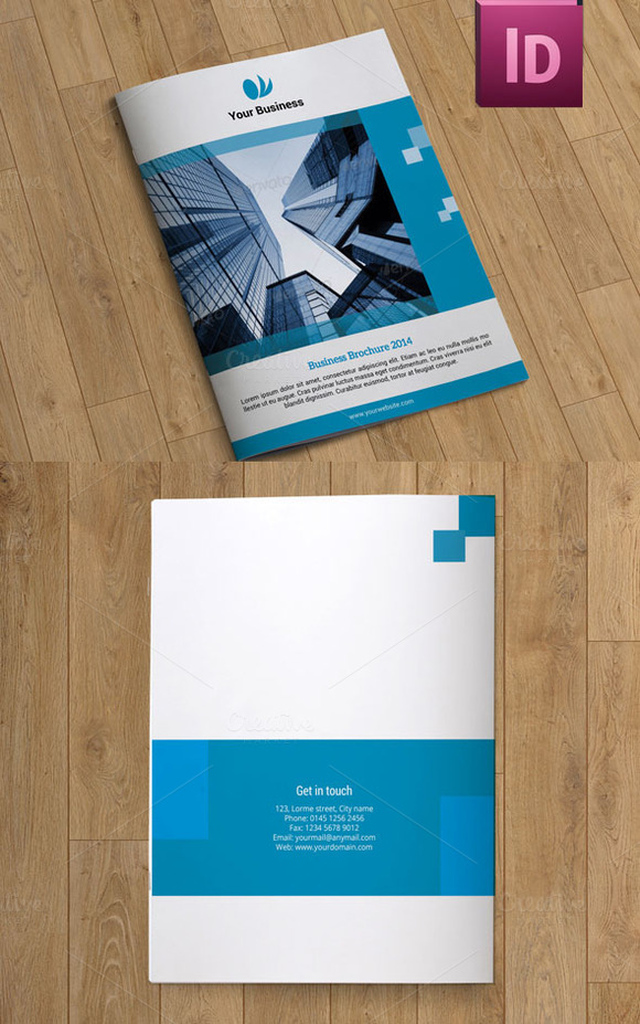 Brochure For Business 10 Pages