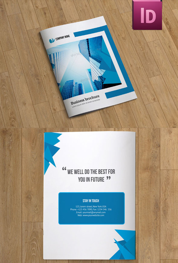 InDesign Brochure Template 12Pages