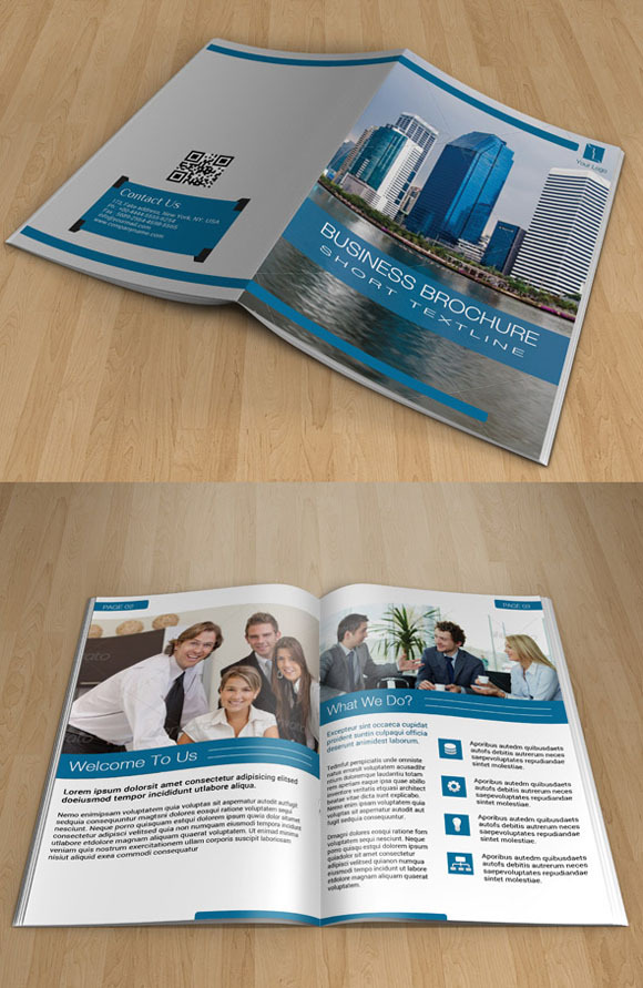Bifold Corporate Brochure-14 Pages