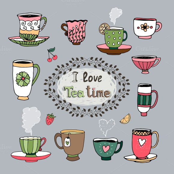 I Love Tea Time