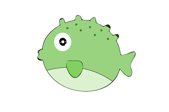 Blowfish Cartoon