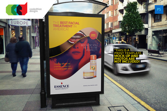 Bus Stop Billboard Design 2