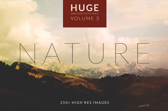 Huge Nature Photo Set 250 Images