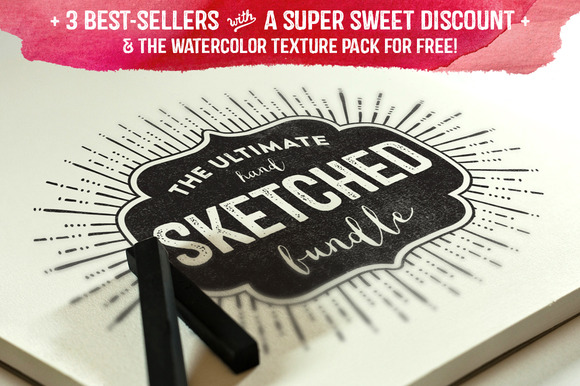 The Ultimate Hand Sketched Bundle