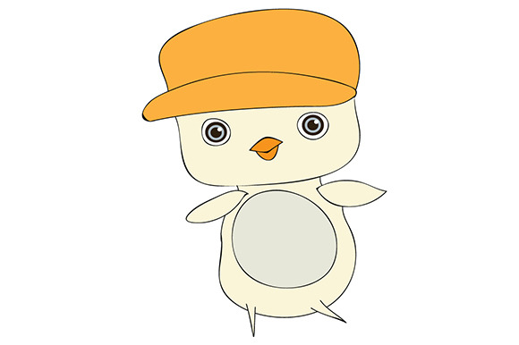 Little Chick With Hat