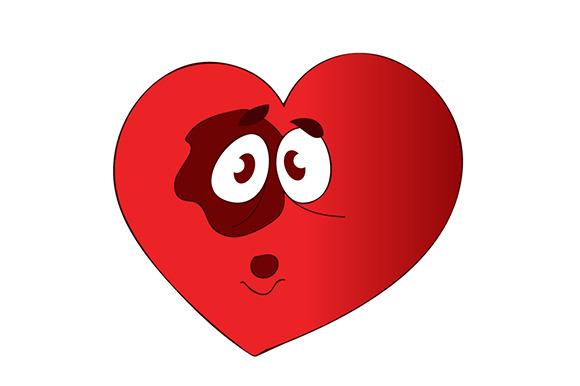 Bruised Valentine Heart