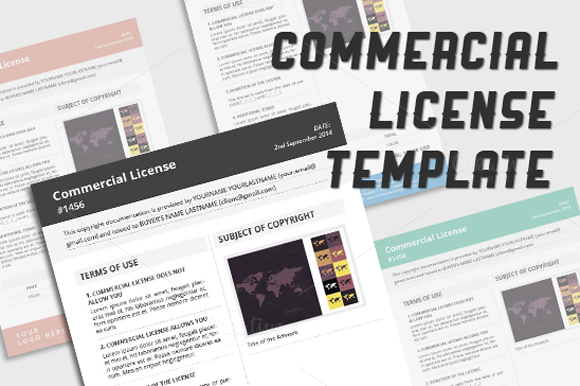 Commercial License Template