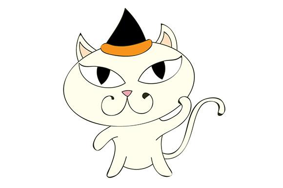 Birthday Kitten Illustration