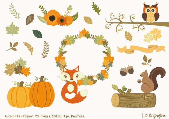 Autumn Fall Clipart