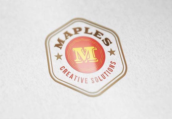 Logo Badge PSD Pack