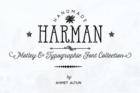 Harman Font Pack 84%OFF