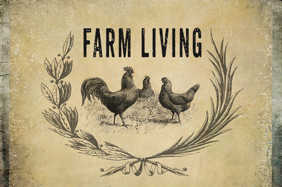 Farm Living Clipart Backgrounds