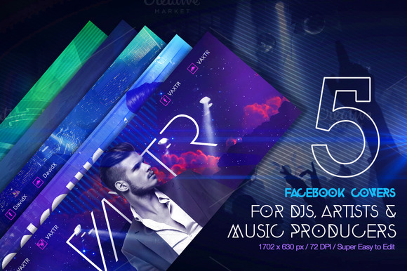 5 Creative FB Covers For Djs