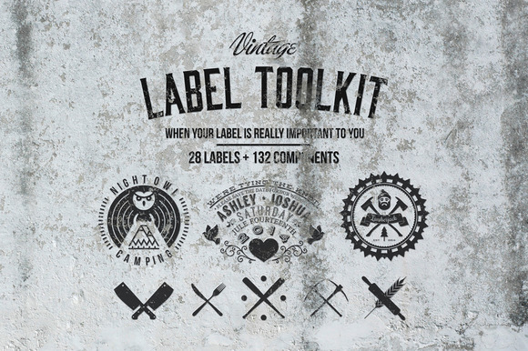 Vintage Label Toolkit