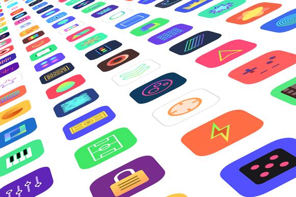 Jellycons 100 IOS 8 App Icons