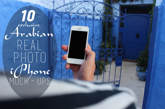 10 Exclusive Arabian IPhone Mock-ups