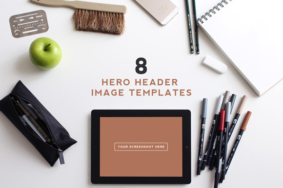 8 Customizable Hero Header Templates
