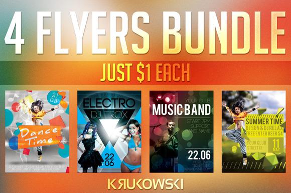 $1 Flyers Bundle