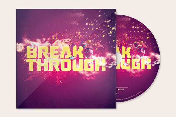 Break Through CD Artwork Template
