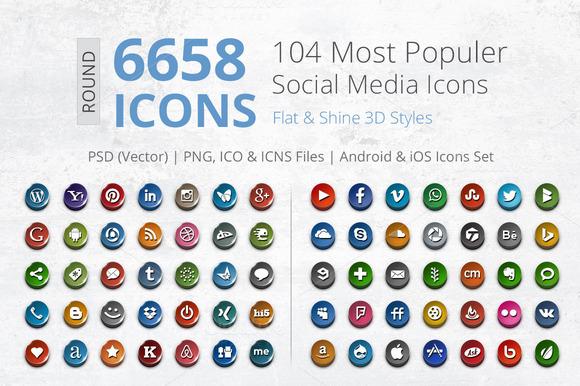 3D Social Media Pack