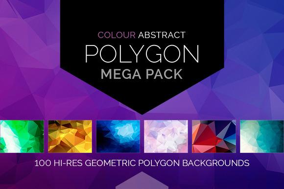 Colour Polygon Mega Pack