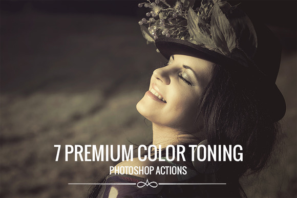 7 Premium Color Toning Actions