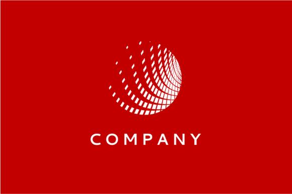 Modern Globe Logo Template