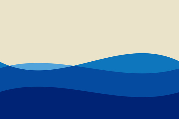 Water Or Waves Illustration