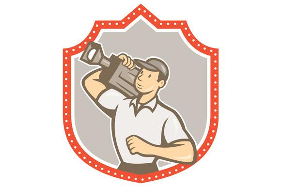 Cameraman Vintage Film Movie Cam