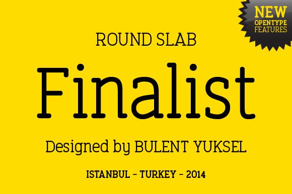 Finalist Round Slab