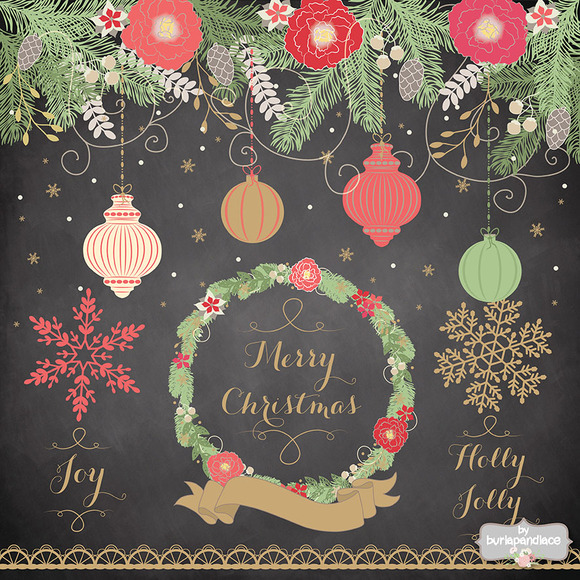 Vector Christmas Clipart