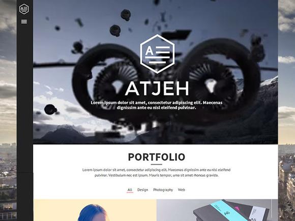 Atjeh HTML Creative Portfolio