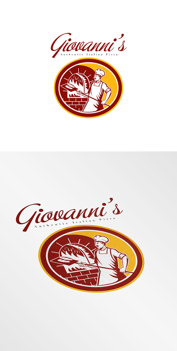 Giovanni S Authentic Italian Logo