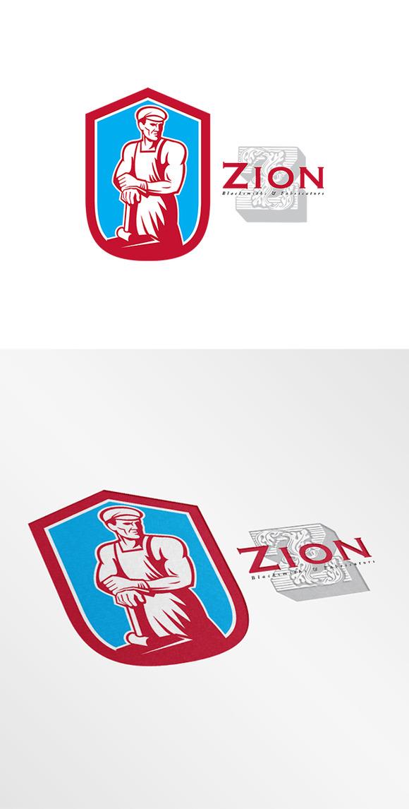Zion Blacksmiths Logo