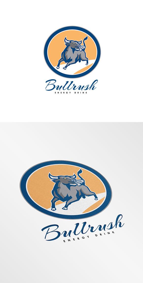 Bullrush Energy Drink Logo