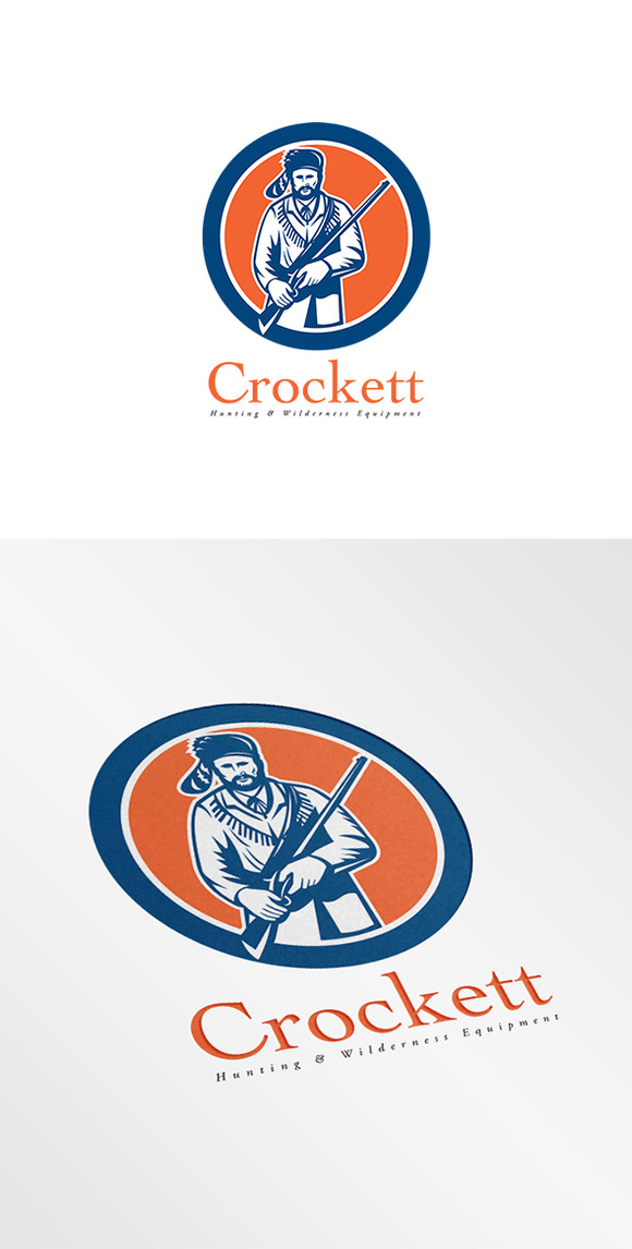 Crockett Hunting Equipments Logo