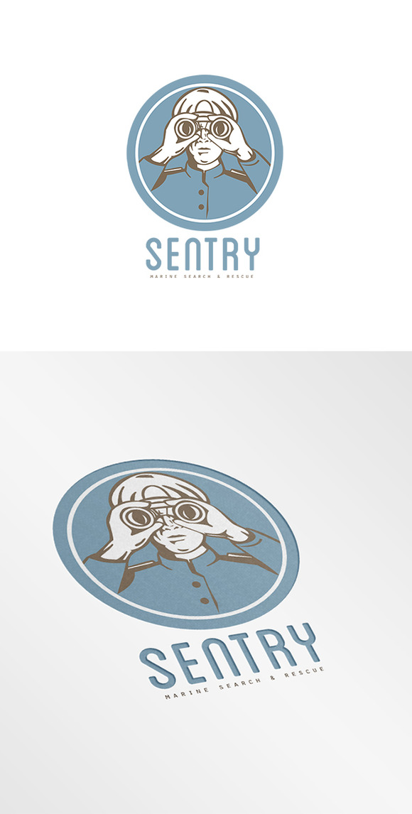 Sentry Marine Search And Rescue Logo