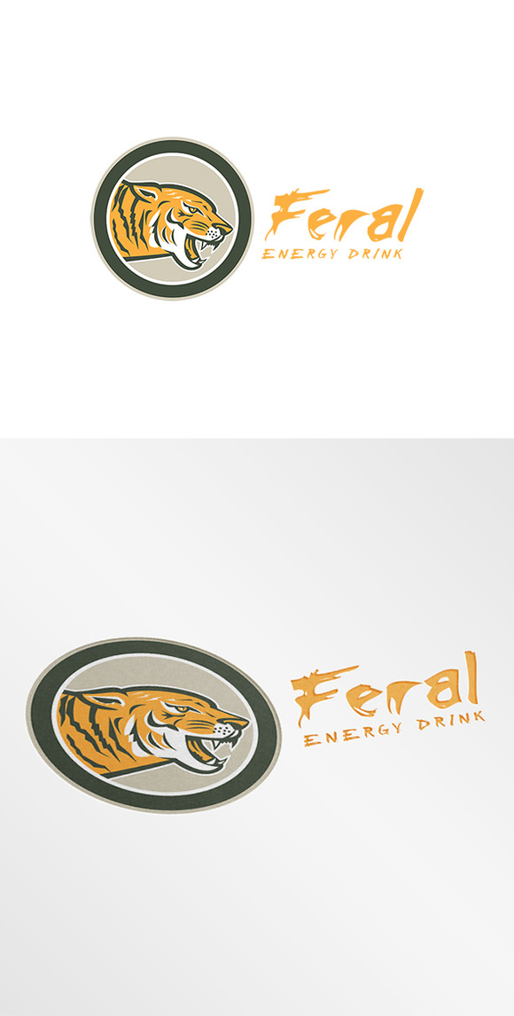 Feral Energy Drink Logo