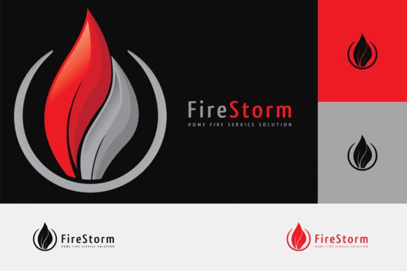 Fire Storm Logo
