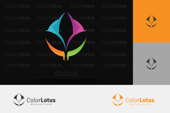 Flower Lotus Logo