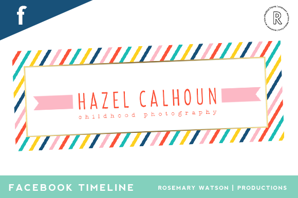 Candy Stripe Facebook Timeline Cover