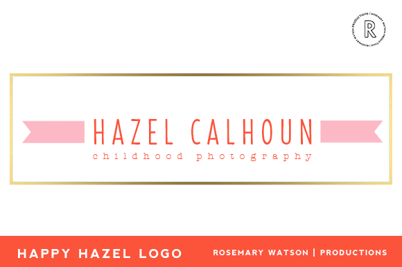 Happy Hazel Logo Template