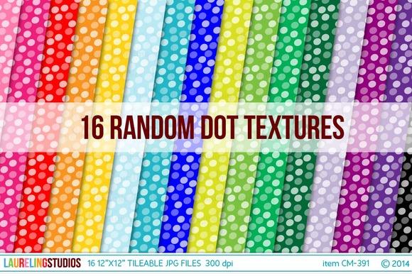 Tileable Pattern Dot Digital Paper