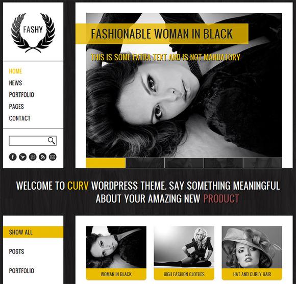 Fashy A Fashion Wordpress Theme